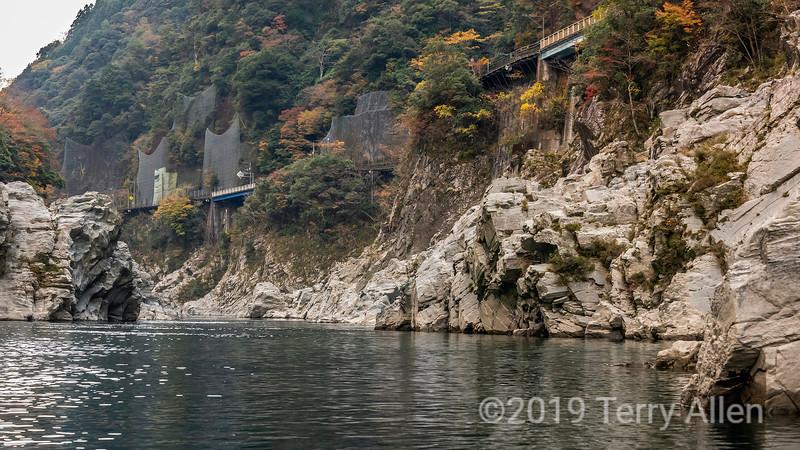 Cliff-side railway