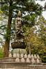 Statue, maybe Goddess of Mercy Guanyin at Jinguji Buddhist temple, Kamiyama, Japan
