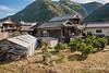 Rural village houses, Kamiyama, Tokushima, Shikoku Island, Japan