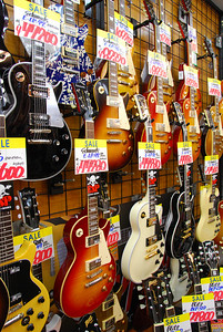 Guitar shop in Ochanomizu