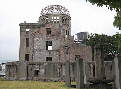 A-Bomb Dome (Genbaku Dome) in Hiroshima