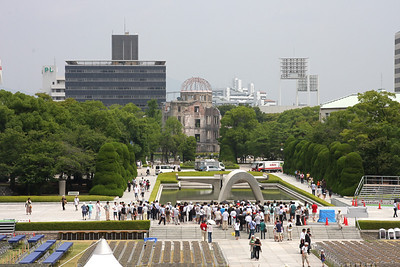 August 5:  Preparing for the Hiroshima Peace Memorial Ceremony