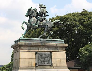 Statue of Kusunoki Masashige at Imperial Palace Plaza, Tokyo