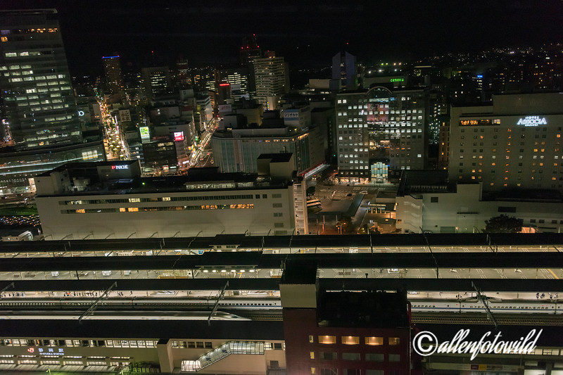Speeding night trains