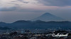 Mt Fuji at sunset seen from Shizuoka University, Shizuoka, Japan