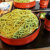 Bowl of Green Tea Noodles