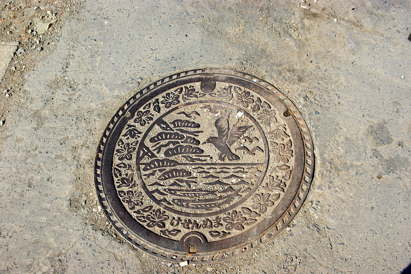 Photo By Bob Bodnar...........................................A beautiful manhole Cover