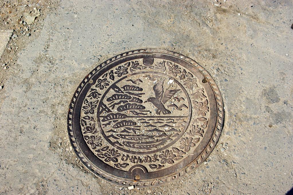 Photo By Bob Bodnar...........................................A beautiful manhole Cover