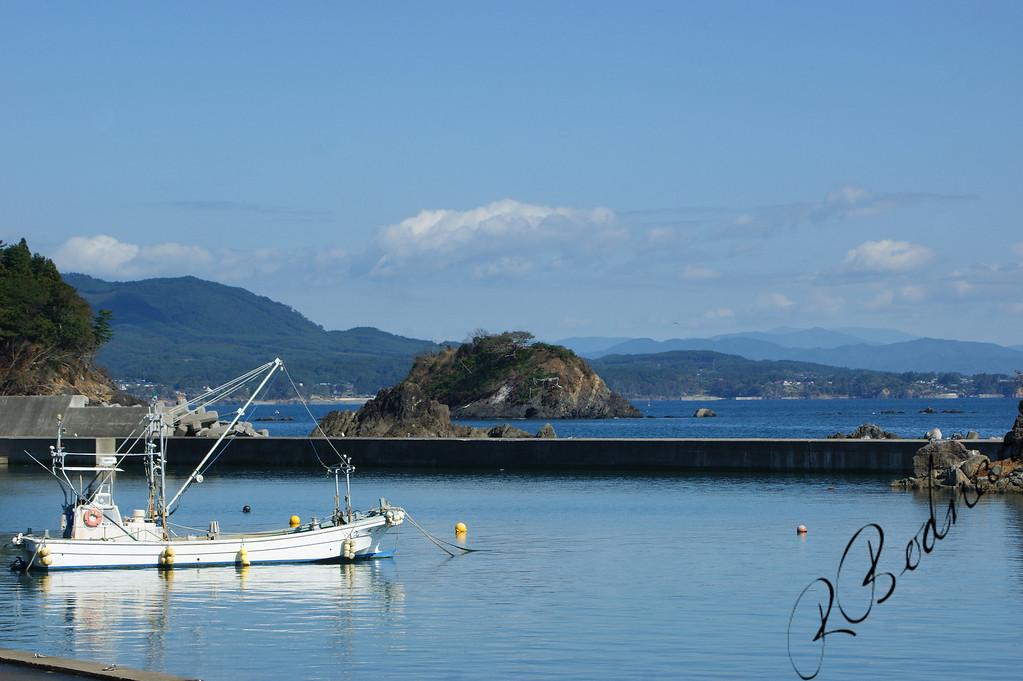 Photo By Bob Bodnar.......................................Along the Northern Pacific Coast of Japan, Near Kesennuma
