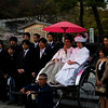 Wedding photos, Hachimangu shrine, Kamakura