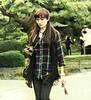 Woman with a Camera, Kenrokuen Garden, Kanasawa, Japan