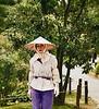 Gardener Standing Straight, Kenrokuen Garden, Kanasawa, Japan