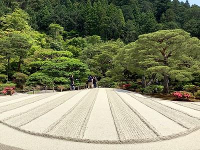 Ginkakuji 銀閣寺 garden
