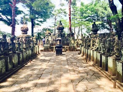 Gohyaku Rakan at Kitain Temple 喜多院, Kawagoe