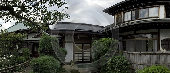 Kawagoe Japenese House Saitama Japan Fine Art Landscape Art Prints For Sale - 016312 - 15-10-2008 - 8857x3815 Pixel