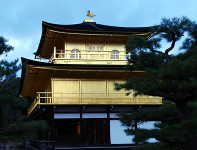 Kinkaku-ji - The Golden Pavilion in Kyoto  (C) 2009 Brian Neal