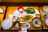 A restaurant food display in Korakuen, Bunkyo, Tokyo, Japan.