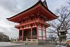 Nio-mon (Main gate) from the rear, Kiyomizudera, Kyoto, Japan