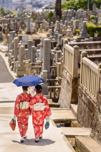 Walking in the Cemetery