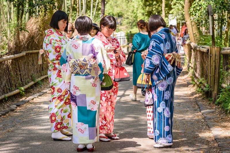Girls in Kimonos
