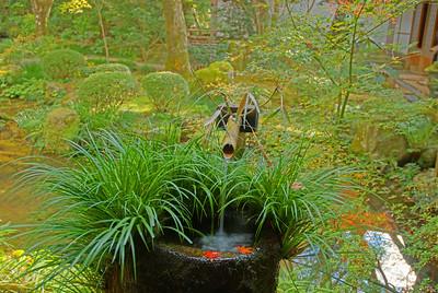 "A ""water well"" in Yusei-en Garden captured in HDR"