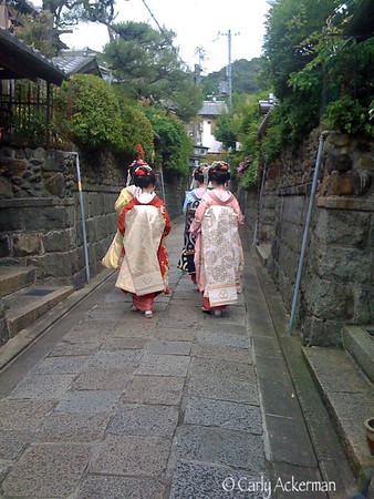 Geisha Ishibe-koji Alley