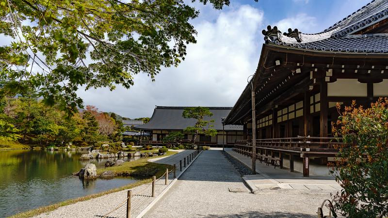 Alone at Tenryu-ji・天竜寺で一人で