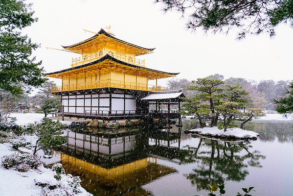 Kinkaku-Ji in Snow