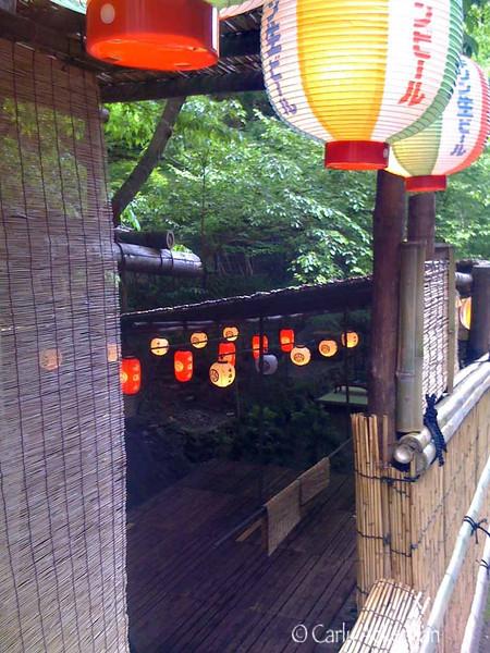 Riverside Lanterns at Kibune