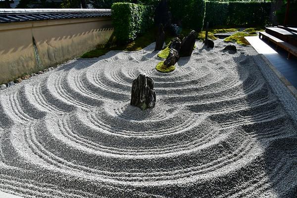 Daitoku-Ji Zuiho en tuin