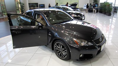 The only sporty car Toyota makes, the IS-F with 400+hp