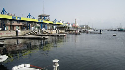 Yokohama Marina - We will come back tomorrow to actually sail