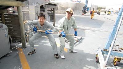 Kikuji Hayashi and Toshi Suzuki