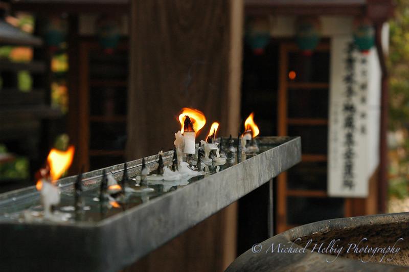 Offering Candles - Miyajima