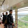 Riding the Mount Kachikachi Ropeway