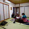 Japanese-style room at K's Hostel in Kawaguchiko