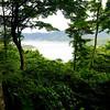 View of Kawaguchiko from Mount Kachikachi