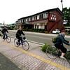 Cycling around Kawaguchiko