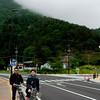 Cycling around Lake Kawaguchi