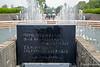 Peace Fountain at the Nagasaki Peace Park