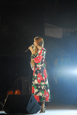 Mary Sara (紗羅マリー, Sara Marī) - live concert @ 19:55  She is a Japanese fashion model and a newly-launched J-pop singer. Her singing style was compared to Pink's. Born December 12, 1986 in Nagoya, she is under the Tokyo-based LesPros Entertainment. She first became a model in 2000, when she was 13 years old.