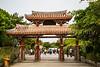 The Shurijo Castle gate in Naha, Okinawa, Japan.