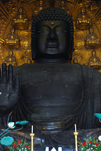 Daibutsu of Todai-ji (52 ft tall)  (C) 2009 Brian Neal
