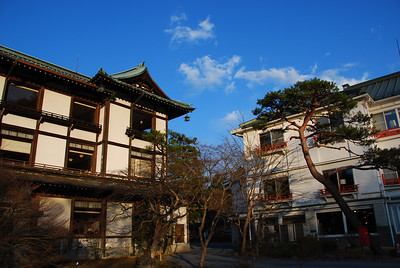 The Kanaya Hotel, Japan's oldest  (C) 2008 Brian Neal