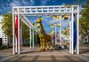 The Legoland park at the port in Osaka, Japan.