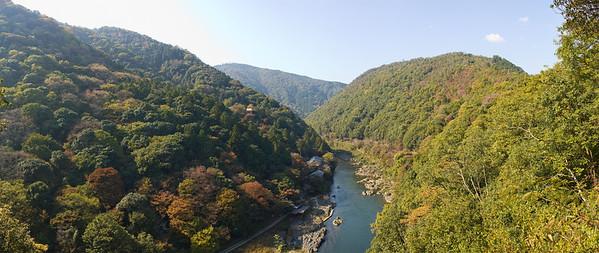At Arashiyama, Kyoto