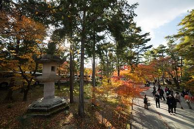 Giant stone lantern at Nanzen-ji