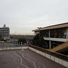 Outside Makuhari-Hongo Station. 幕張本郷駅前。