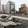 Outside Makuhari-Hongou Station. 幕張本郷駅前
