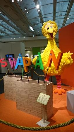 Sesame Street exhibit - Nihonbashi